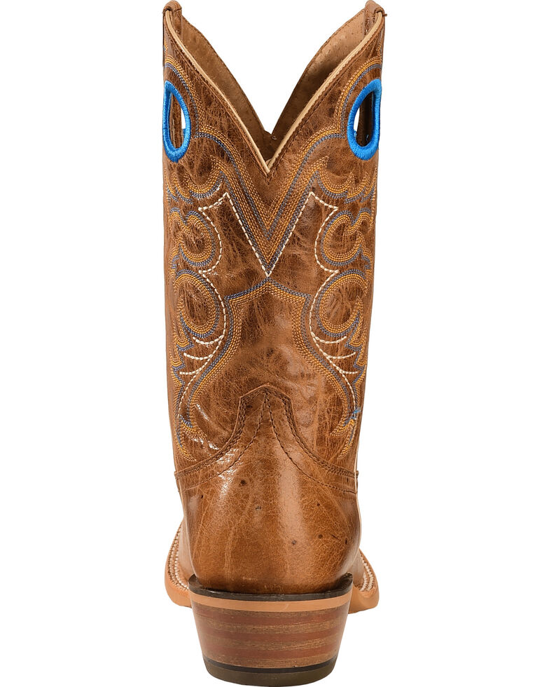 Ariat Men's Distressed Crossfire Western Boots, Brown, hi-res