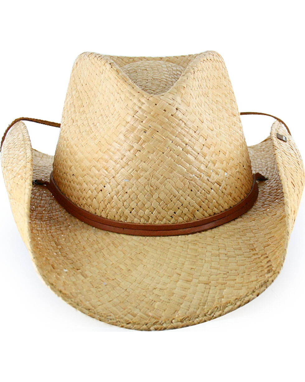 Stetson Straw Fashion Cowboy Hat, Natural, hi-res