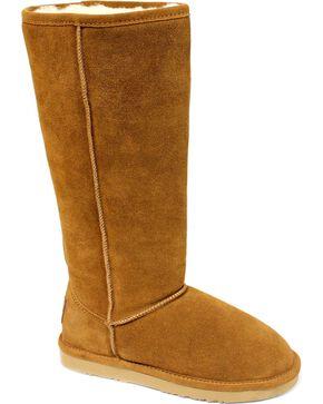 "Dije California Women's 14"" Classic Sheepskin Boots, Chestnut, hi-res"