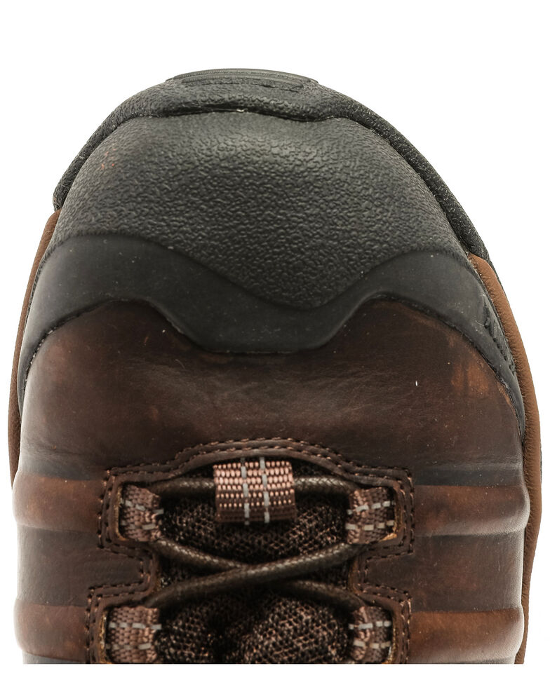 Hawx Men's Axis Waterproof Hiker Boots - Composite Toe, Brown, hi-res