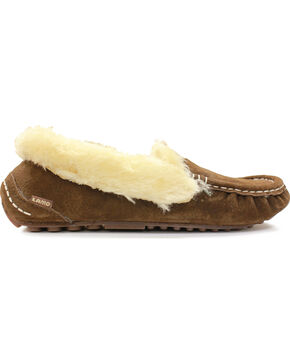 Lamo Footwear Women's Aussie Mocs, Chocolate, hi-res