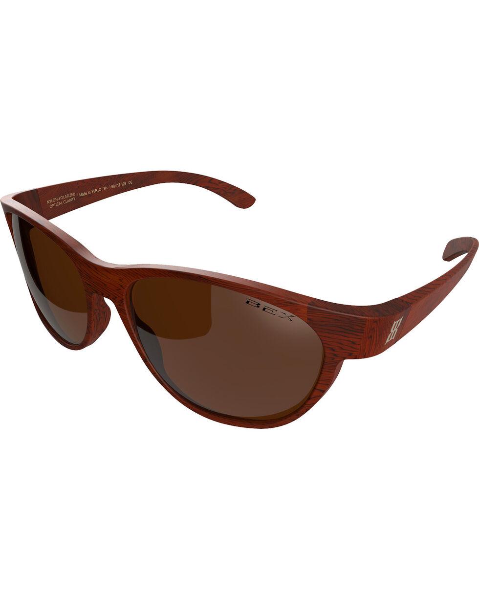 Bex Men's Ryann Polarized Brown/Amber Sunglasses, Brown, hi-res