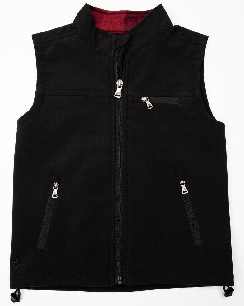 Cody James Toddler Boys' Wrightwood Bonded Zip Vest , Black, hi-res