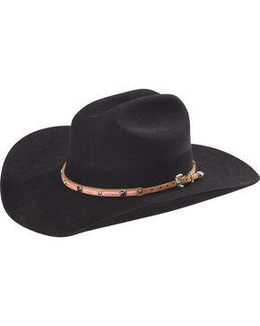 Phunky Horse Women's Pink Leather Hat Band , Pink, hi-res