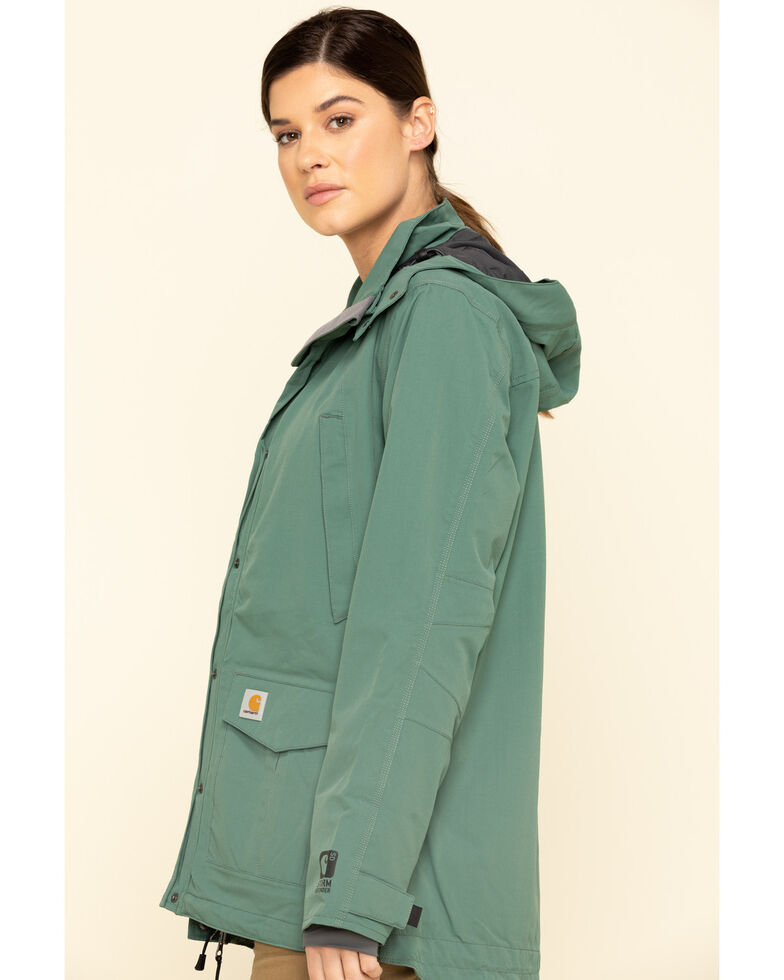 Carhartt Women's Musk Green Shoreline Jacket , Green, hi-res