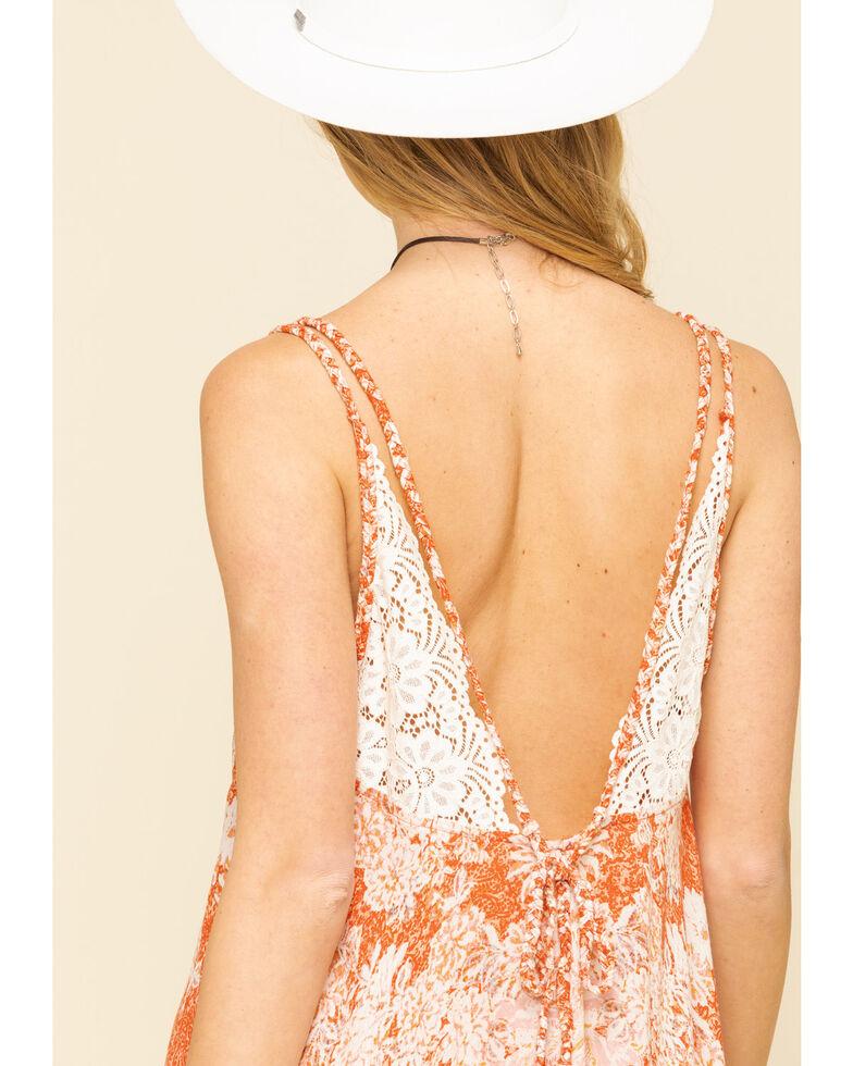 Free People Women's Morning Sun Slip Dress, Orange, hi-res