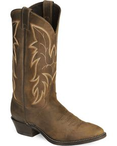 Justin Men's Bay Apache Classic Western Boots, Bay Apache, hi-res