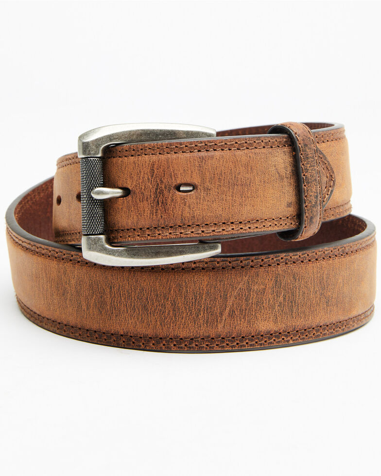 Hawx Men's Feather Edge Work Belt, Tan, hi-res