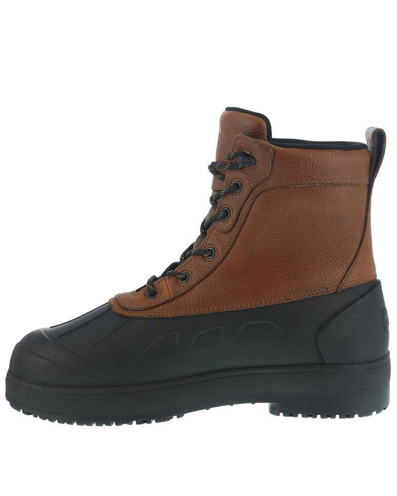 Iron Age Men's Duck Waterproof Work Boots - Steel Toe, Brown, hi-res