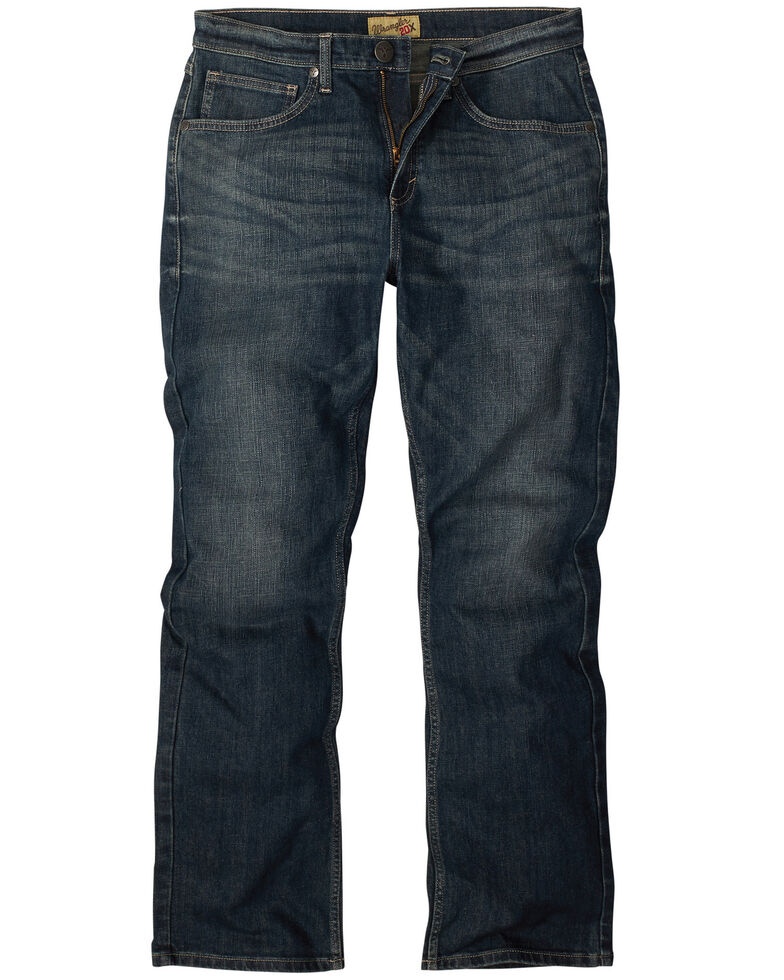 Wrangler 20X Boys' Wrought Iron Vintage Slim Bootcut Jeans , Blue, hi-res