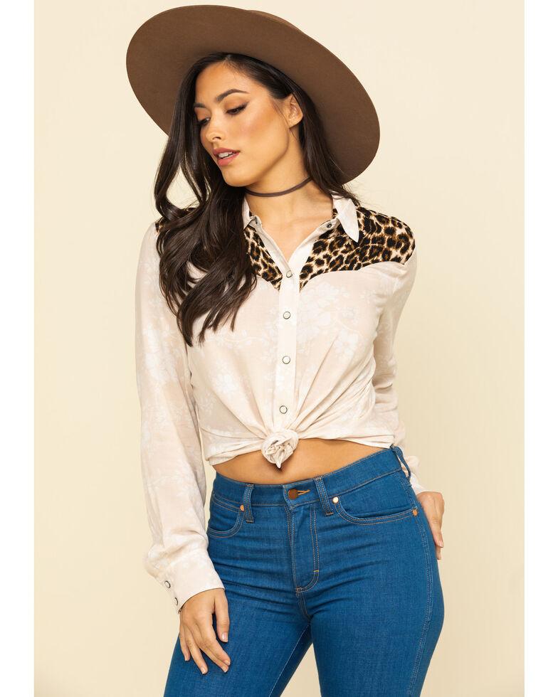 Ariat Women's Dolly Long Sleeve Western Shirt, Multi, hi-res