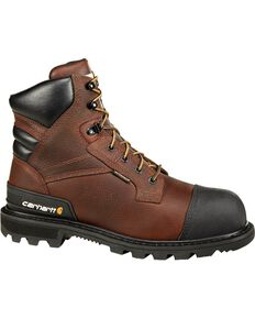 "Carhartt 6"" Brown CSA Work Boot - Composite Toe, Brown, hi-res"