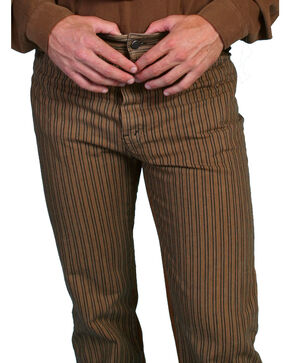Scully Men's Striped Pants, Taupe, hi-res