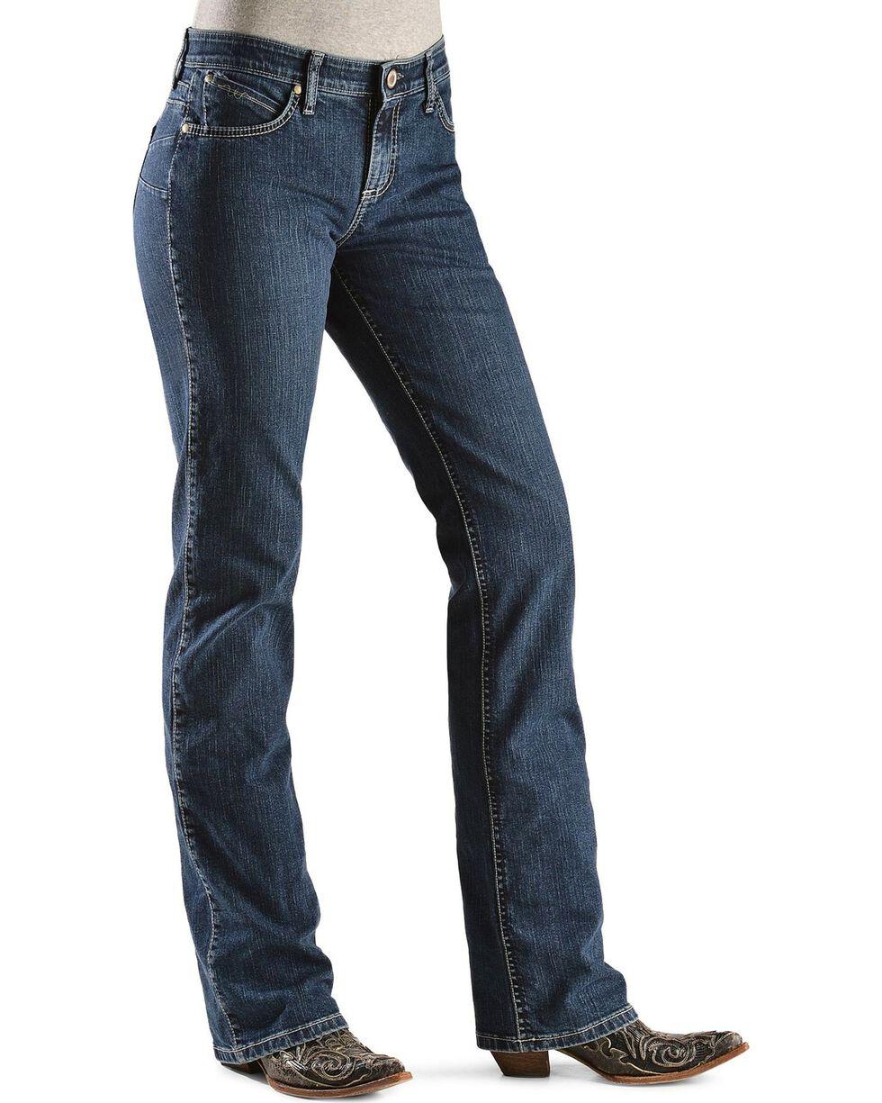 Wrangler Women's Q-Baby Booty Up Tech Jeans, Denim, hi-res