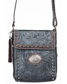 Accessories Plus Women's Professional Carry Crossbody Bag, Black, hi-res