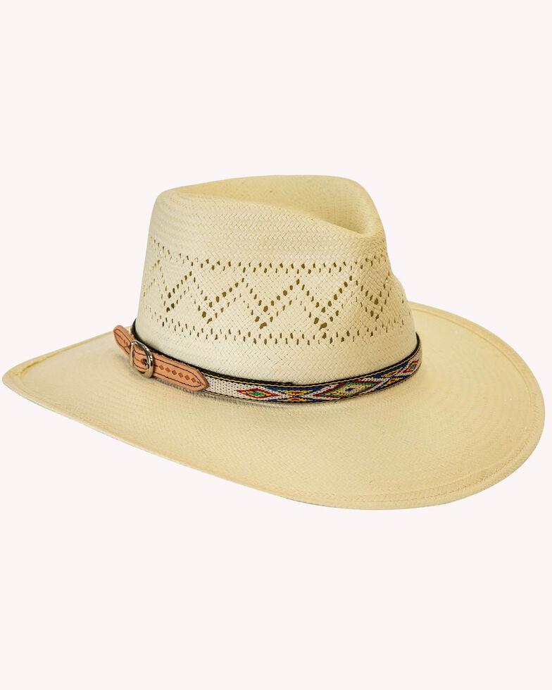 Silverado Ivory Phoenix Western Straw Hat , Ivory, hi-res