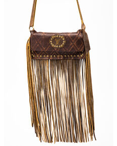Keep It Gypsy Women's Carolyn Waist Brown Diamonds Handbag, Brown, hi-res