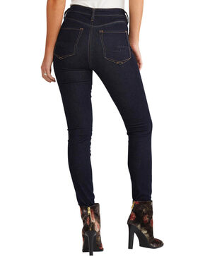 Silver Women's Dark Wash Robson Jeggings, Indigo, hi-res
