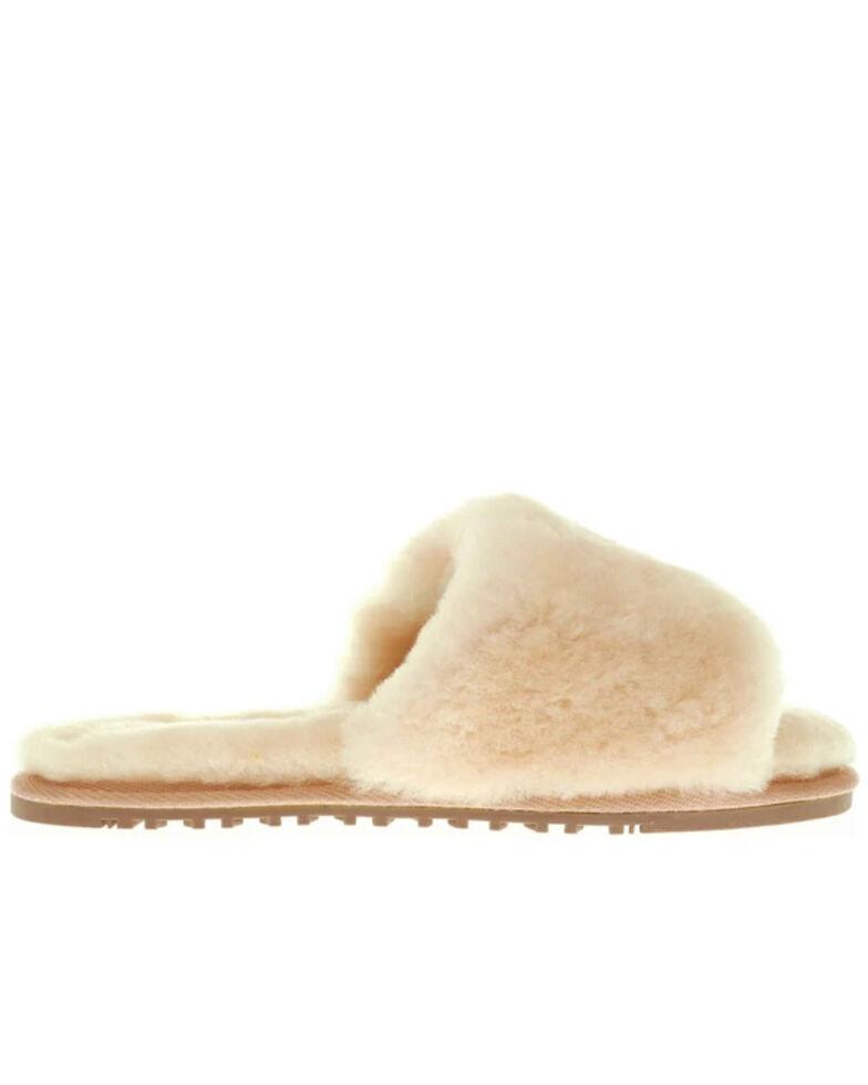 Lamo Footwear Women's Cream Naomi Sheepskin Sandals, Cream, hi-res