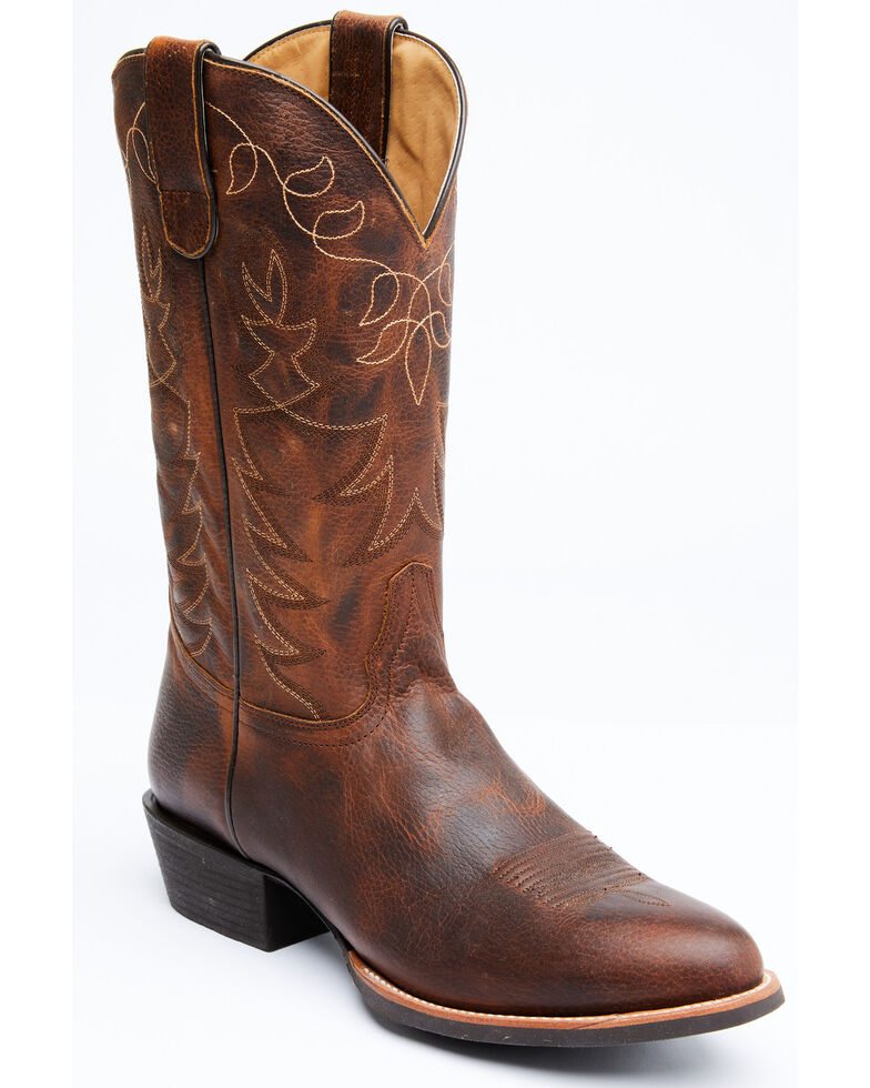 Cody James Men's Cowpoke Western Boots - Round Toe, Tan, hi-res