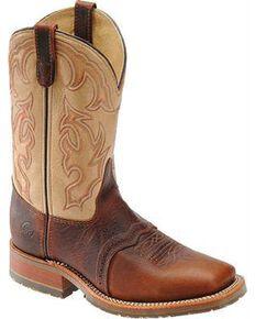 Double-H Men's Western Boots, Bison, hi-res