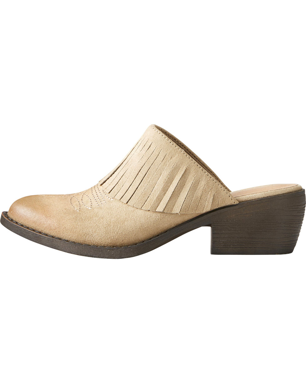 Ariat Women's Unbridled Shirley Mules, Sand, hi-res