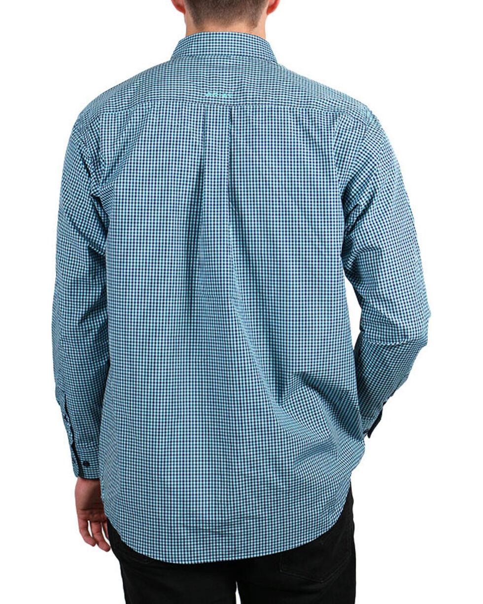 Ariat Men's Plaid Long Sleeve Performance Shirt, , hi-res