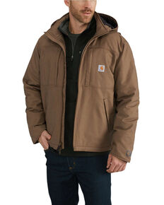 Carhartt Men's Full Swing Cryder Jacket - Big , Brown, hi-res