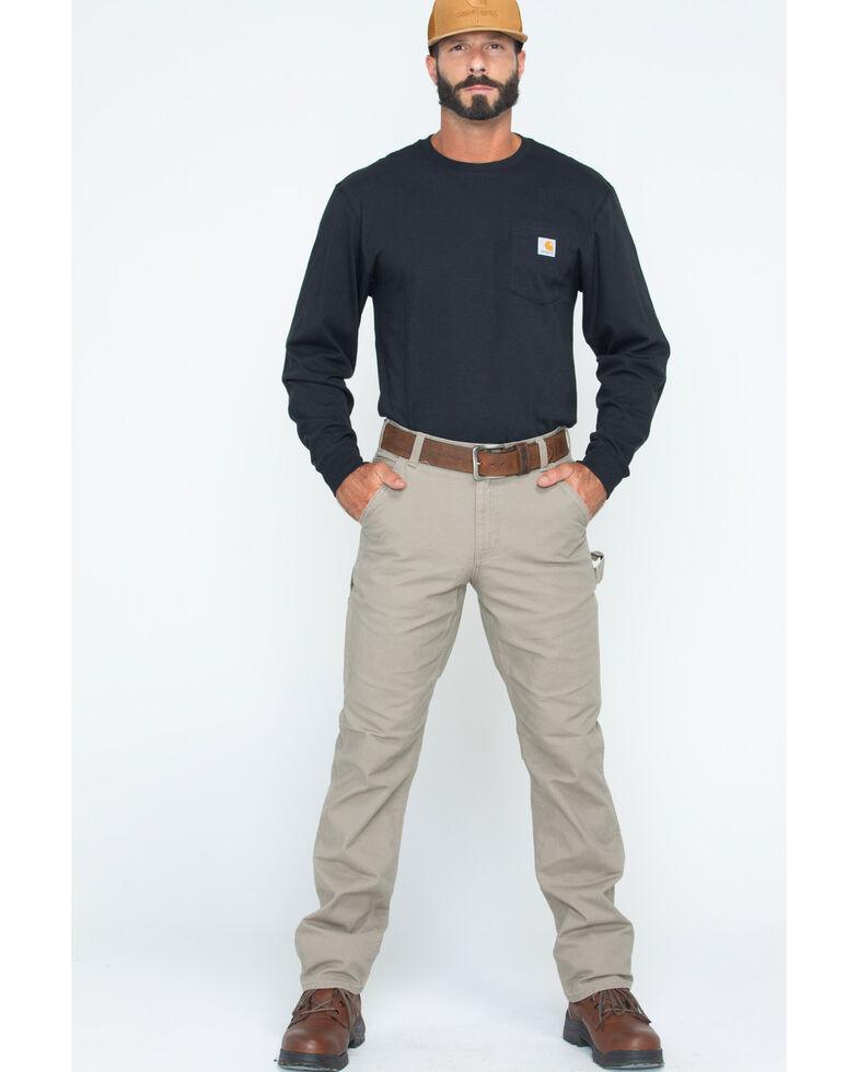 Carhartt Men's Rugged Flex Work Pants, Tan, hi-res