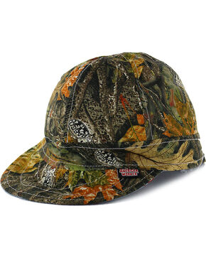 American Worker Men's Wood Camo Welding Cap, Camouflage, hi-res