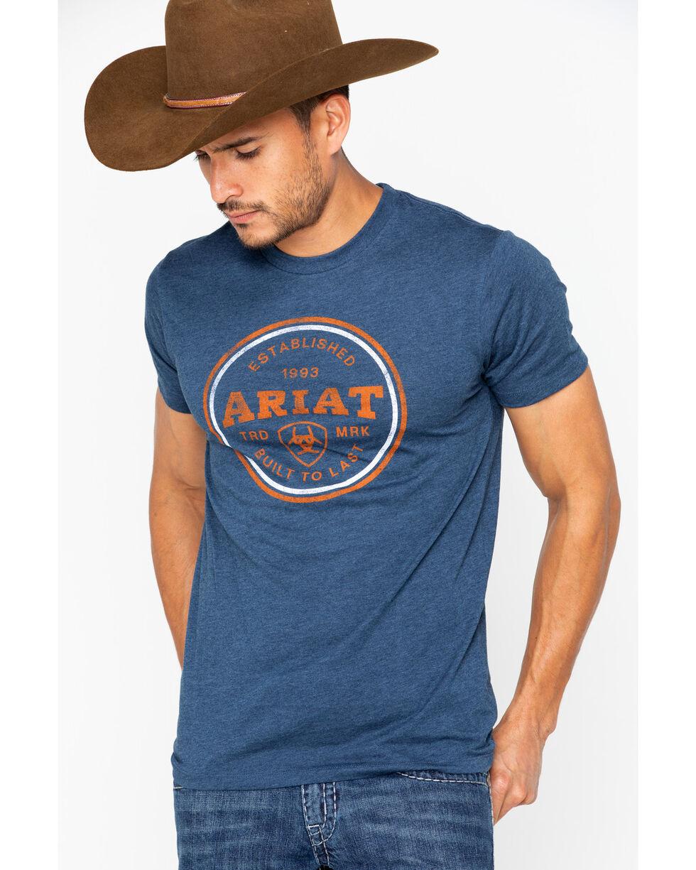 Ariat Men's Emblem Short Sleeve Tee, , hi-res