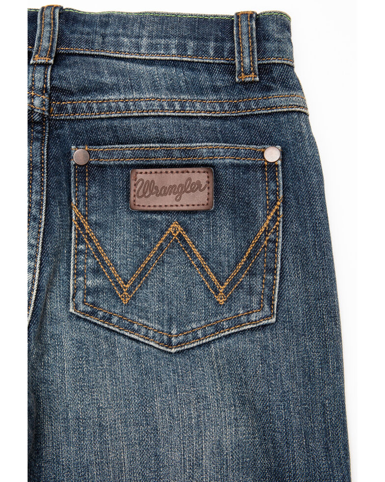 Wrangler Retro Boys' Travis Slim Straight Jeans , , hi-res