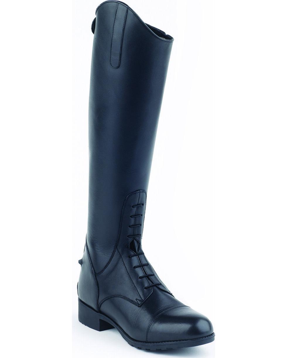 Mountain Horse Girls' Venice Jr. Field Boots, Black, hi-res