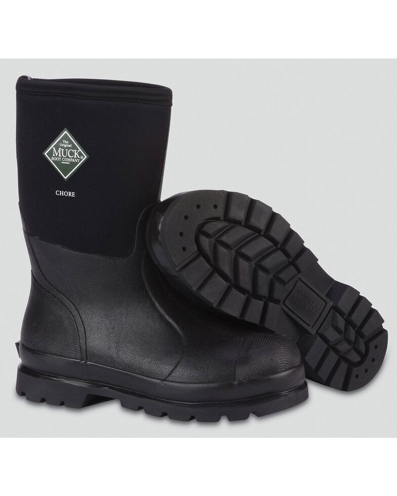 The Original Muck Boot Co. Chore All-Conditions Boots, Black, hi-res