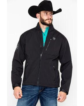 Ariat Men's Black Logo 2.0 Softshell Jacket , Black, hi-res