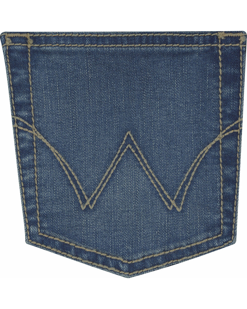 Wrangler Women's Medium Wash Ultimate Riding Q-Baby Jeans  , Indigo, hi-res