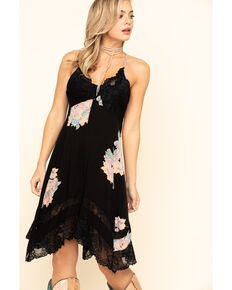 Free People Women's Table For 2 Trapeze Dress, Black, hi-res