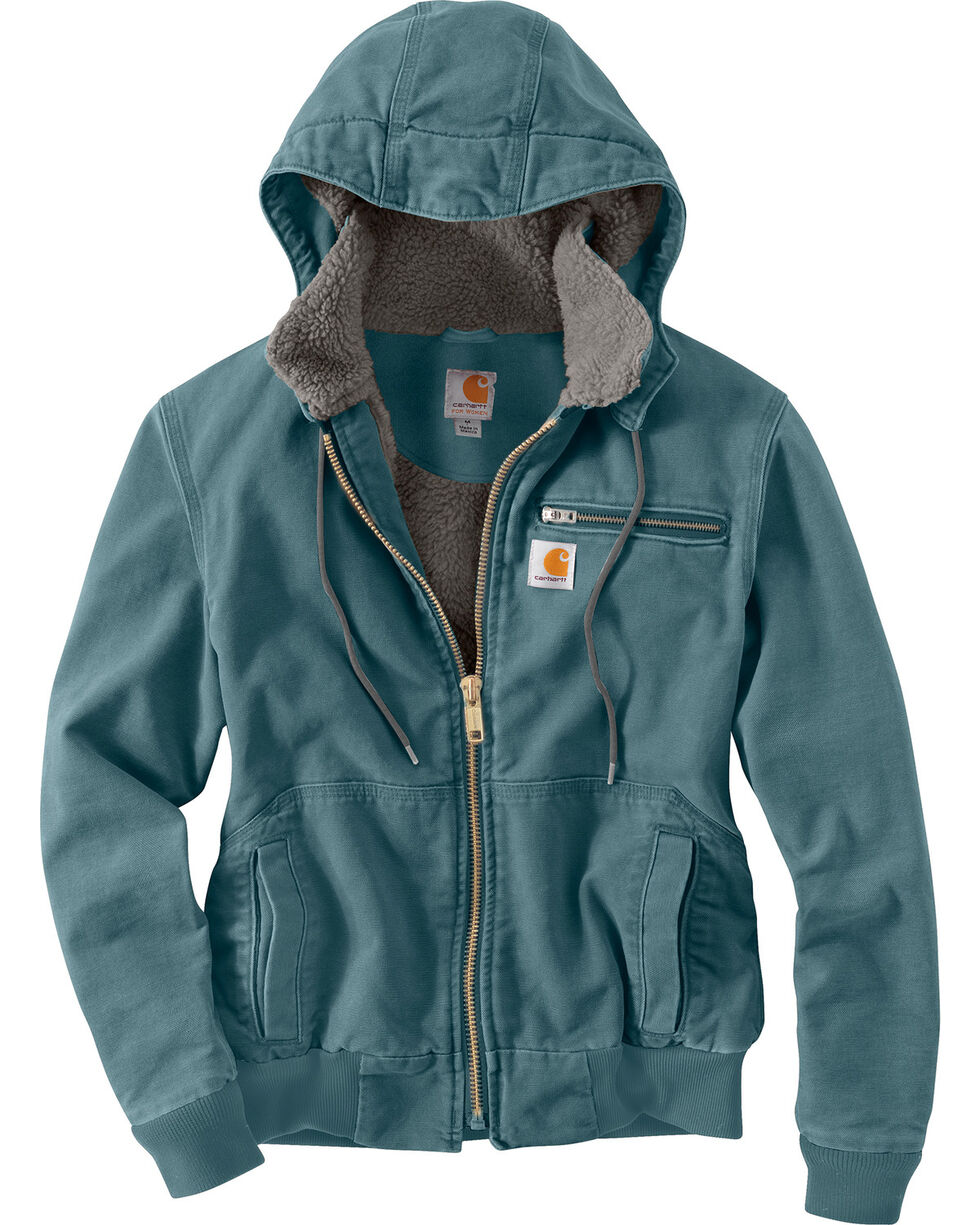 Carhartt Women's Wildwood Jacket, Light Blue, hi-res