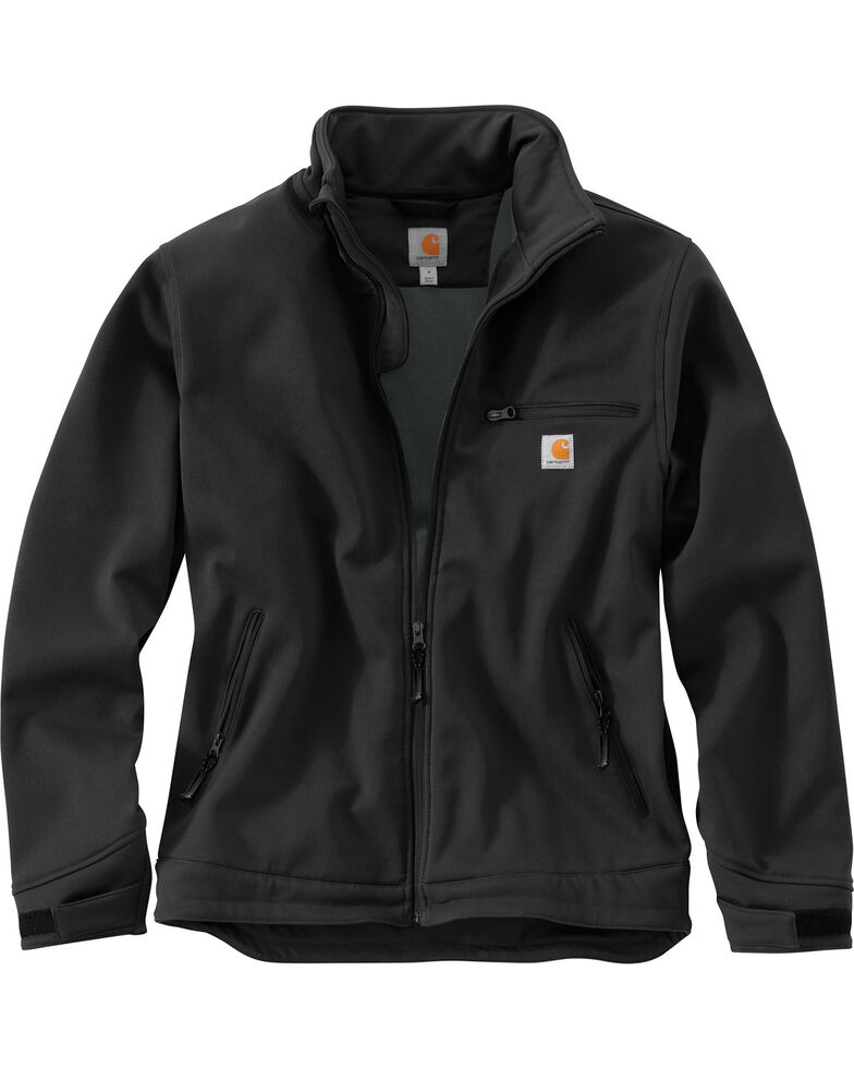 Carhartt Men's Crowley Work Jacket, Black, hi-res