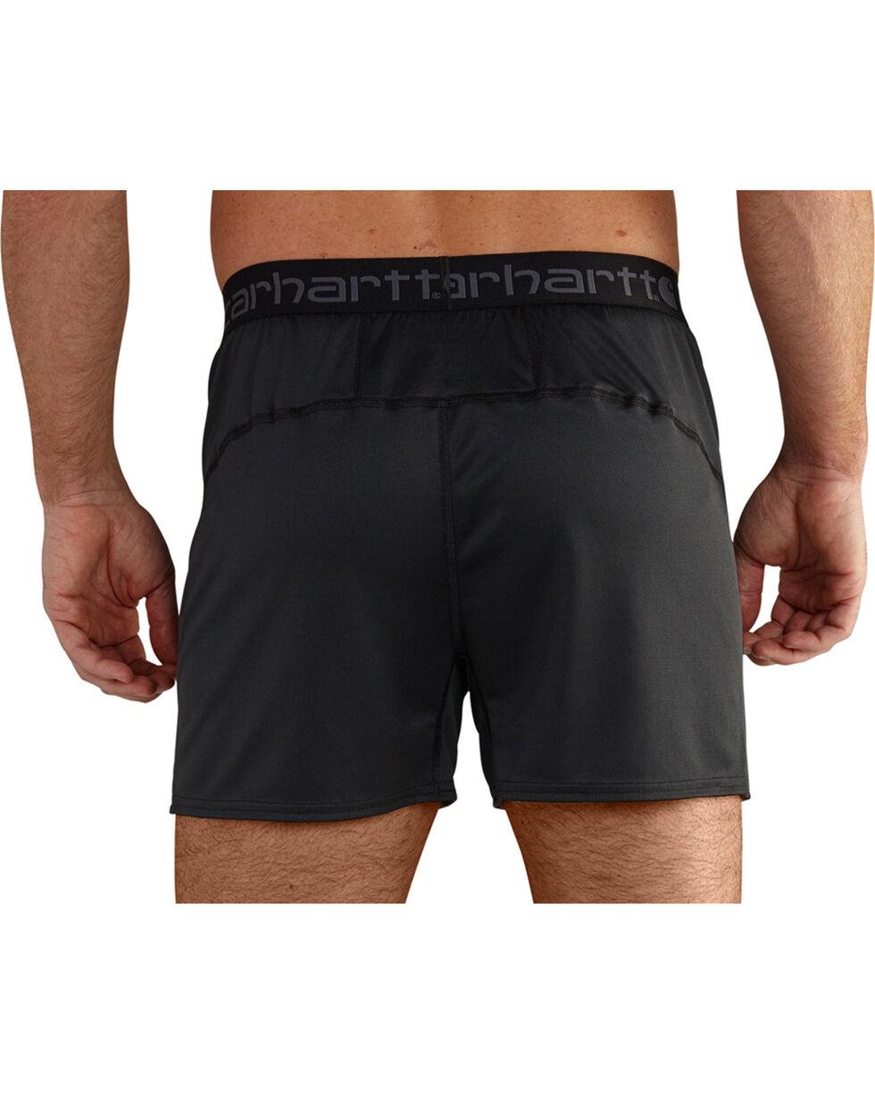 Carhartt Men's Climate Control Base Force Extremes Lightweight Boxer Briefs - Big, Black, hi-res