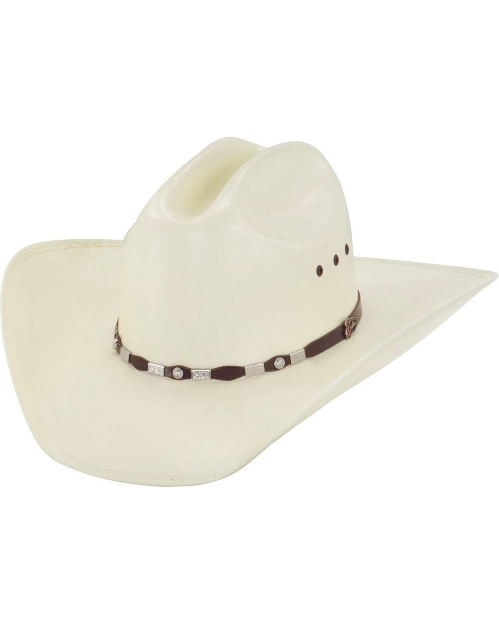 Justin 20X Jacksonville Brown Fancy Concho Hat, Natural, hi-res