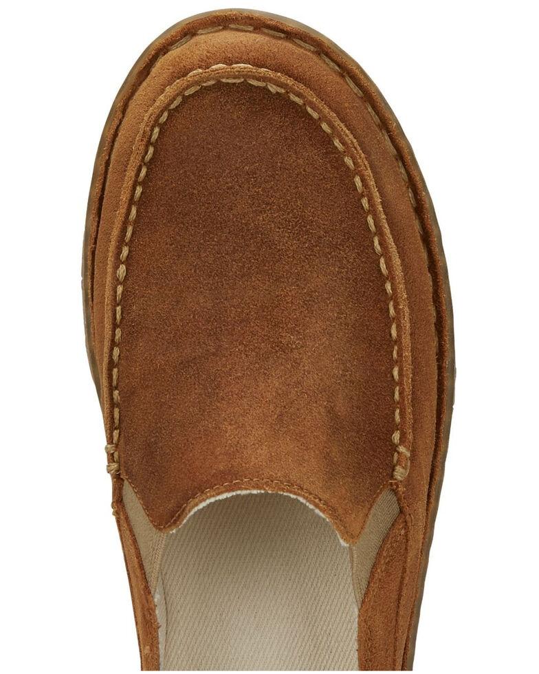 Tony Lama Women's Moccsi Gold Western Boots - Moc Toe, Tan, hi-res