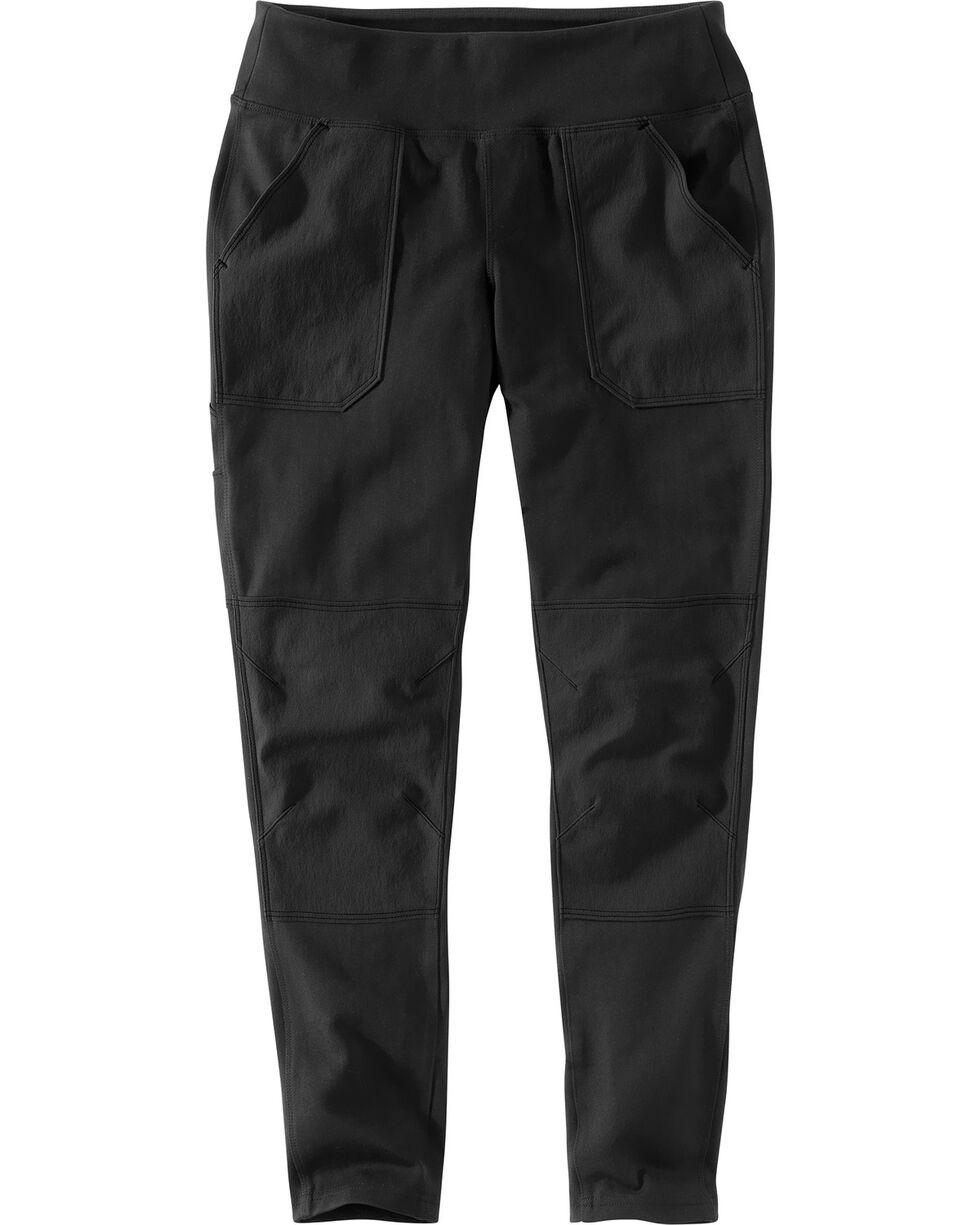 Carhartt Women's Black Force Utility Knit Legging , Black, hi-res