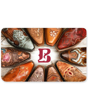Boot Barn® Circle of Boots – Proud B Gift Card, No Color, hi-res
