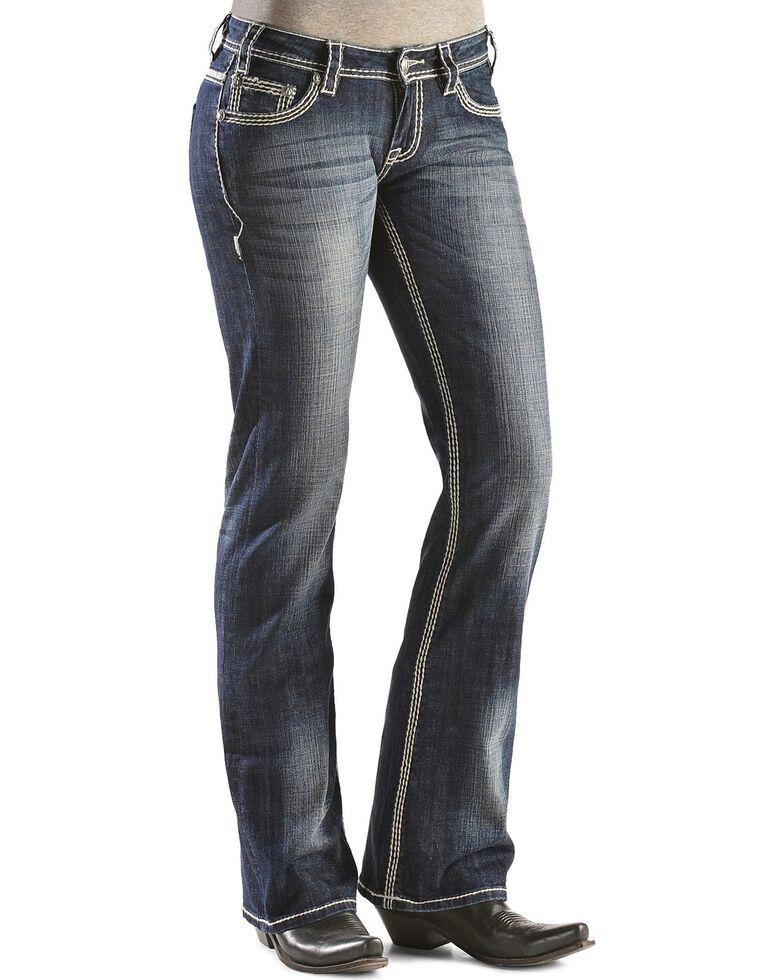 Rock & Roll Denim Women's Boot Cut Riding Jeans, , hi-res