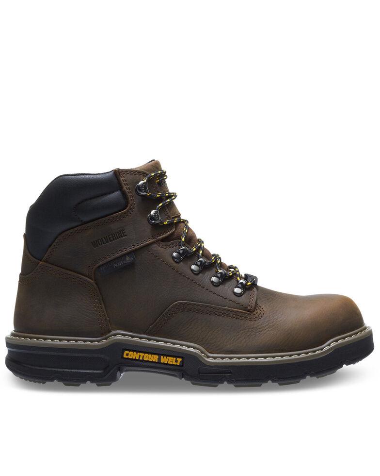 Wolverine Men's Bandit Waterproof Work Boots - Composite Toe, Brown, hi-res