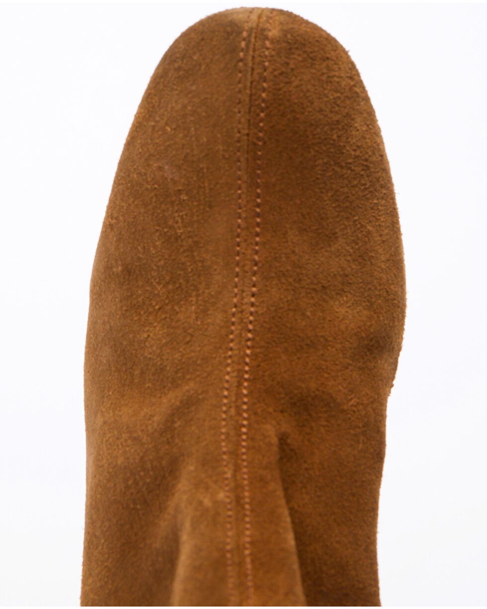 Free People Women's Brown Cecile Fashion Booties - Round Toe, Brown, hi-res