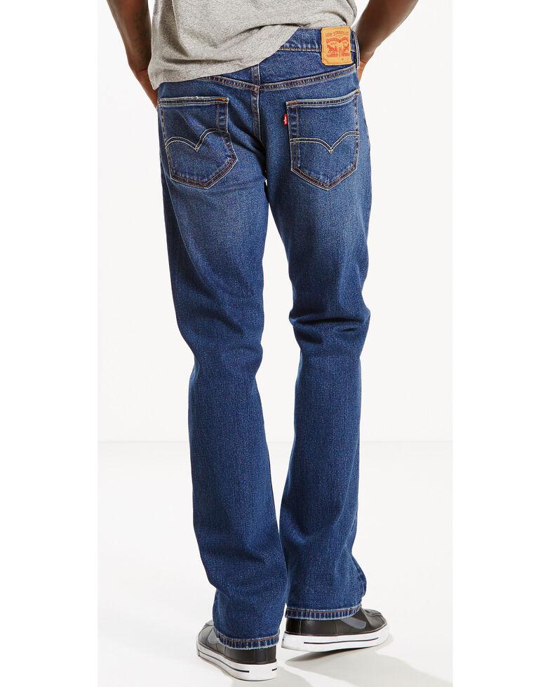 Levi's Men's 527 Slim Fit Bootcut Jeans, Indigo, hi-res