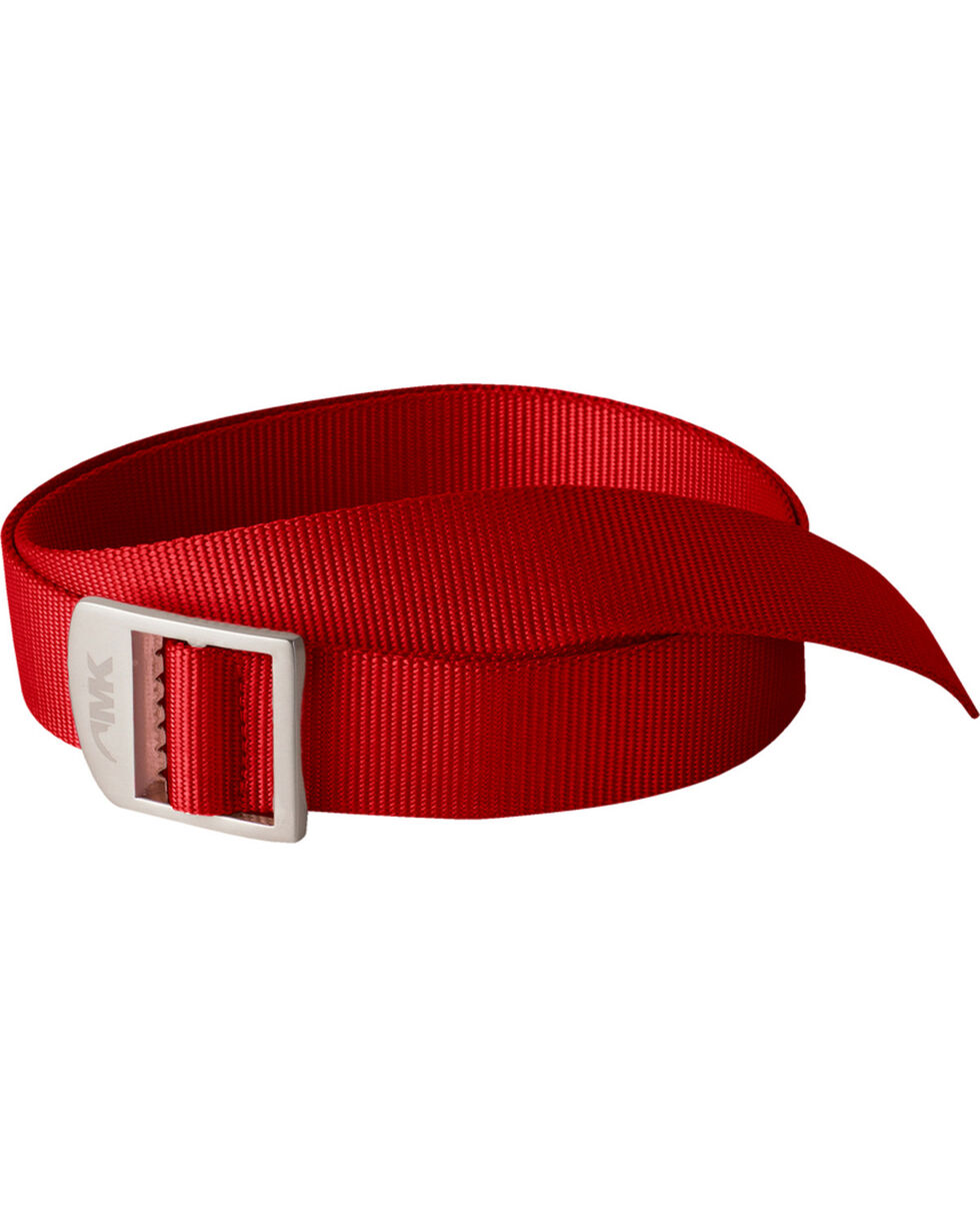 Mountain Khakis Red Webbing Belt  , Red, hi-res