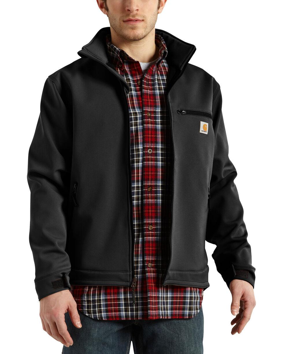 Carhartt Men's Black Crowley Nylon Jacket , Black, hi-res